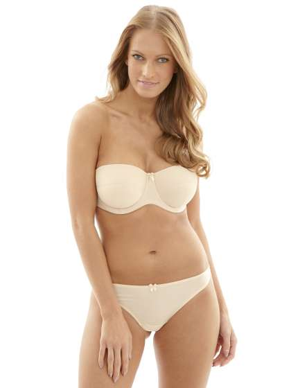 Evie Strapless in Nude by Panache