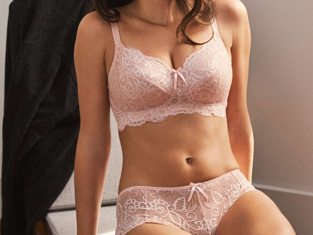 Andorra Non-Wired in Blush by Panache Lingerie