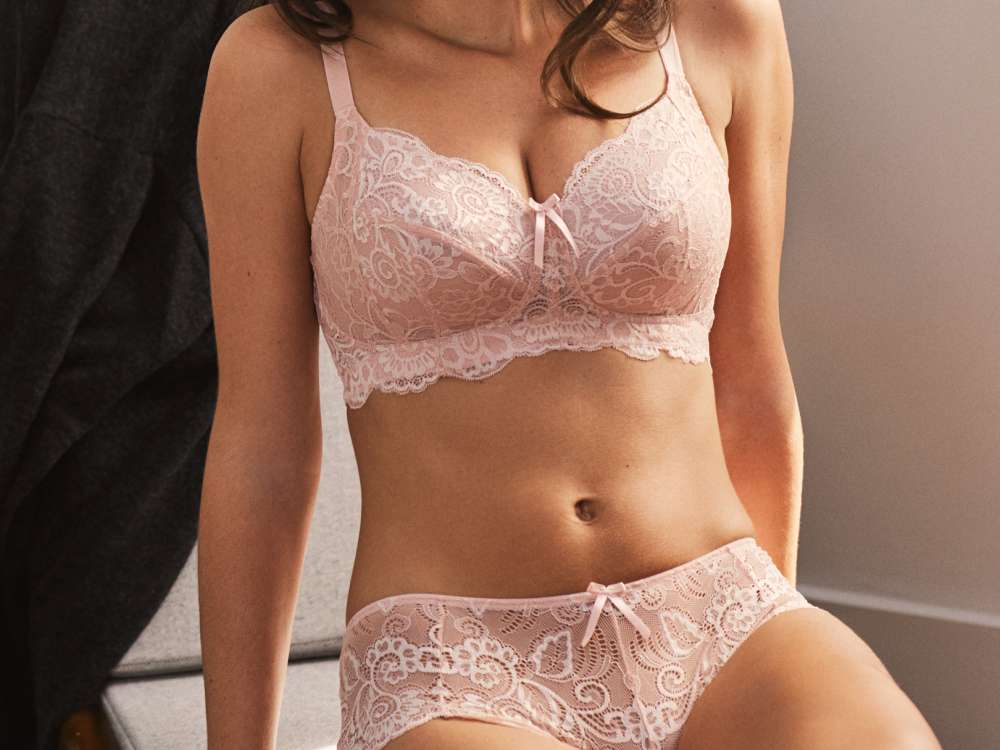 Andorra Non Wired in Soft Blush by Panache Lingerie