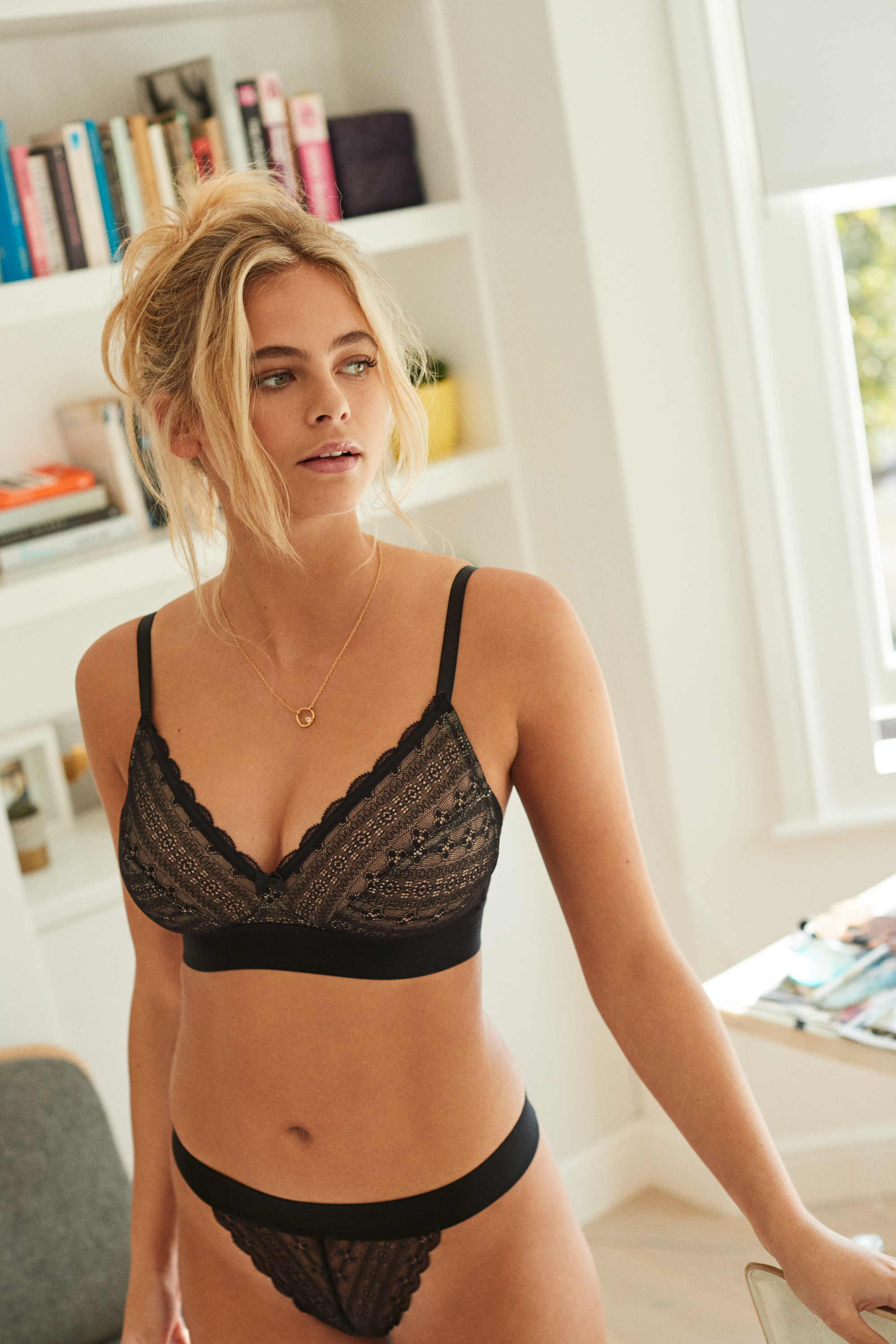Cleo Lyzy in Black by Panache Lingerie
