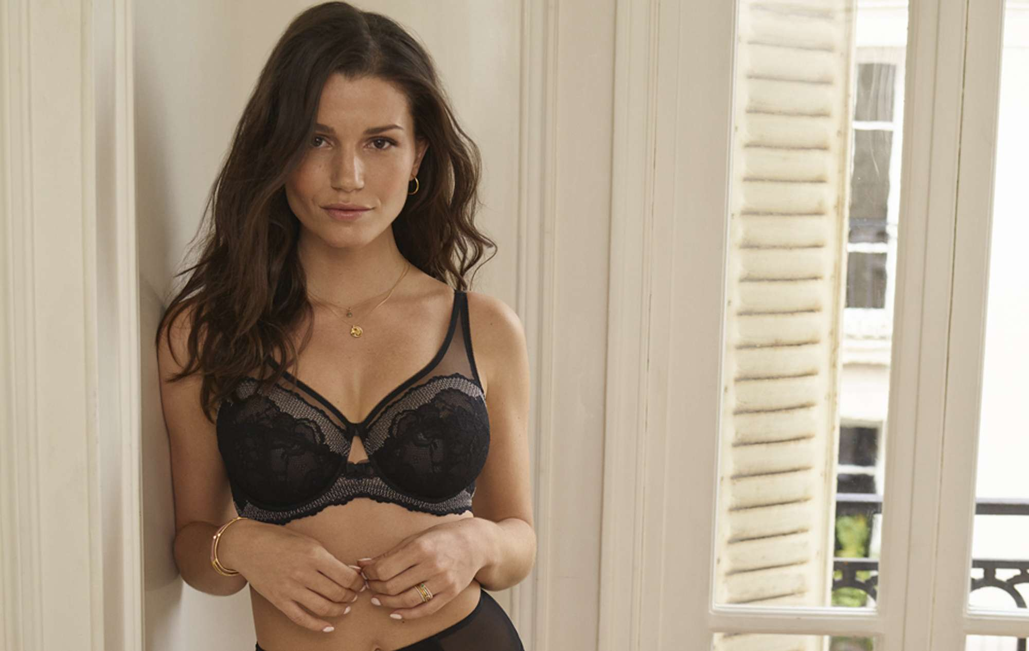 92ac4c80d3 One of the worlds leaders in bras panache is the little black dress of  lingerie essential