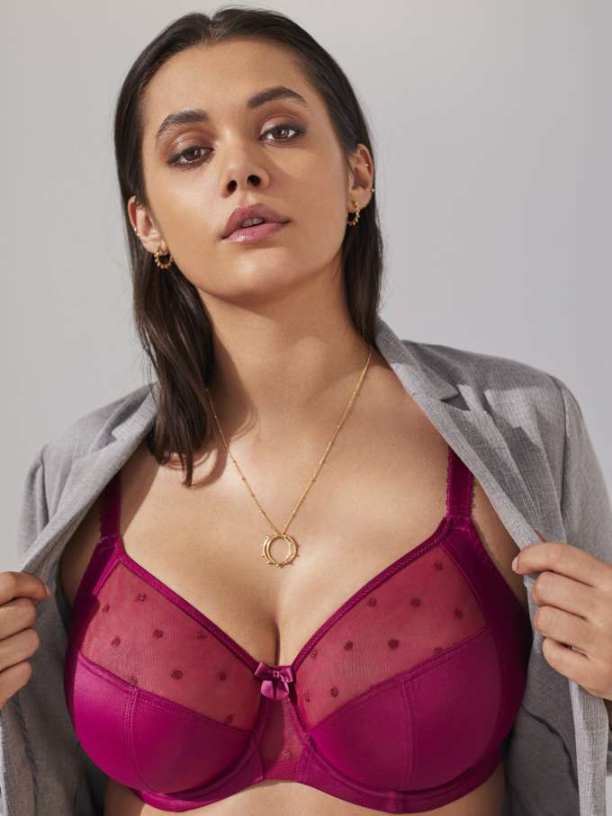 Candi in Cassis by Panache Lingerie