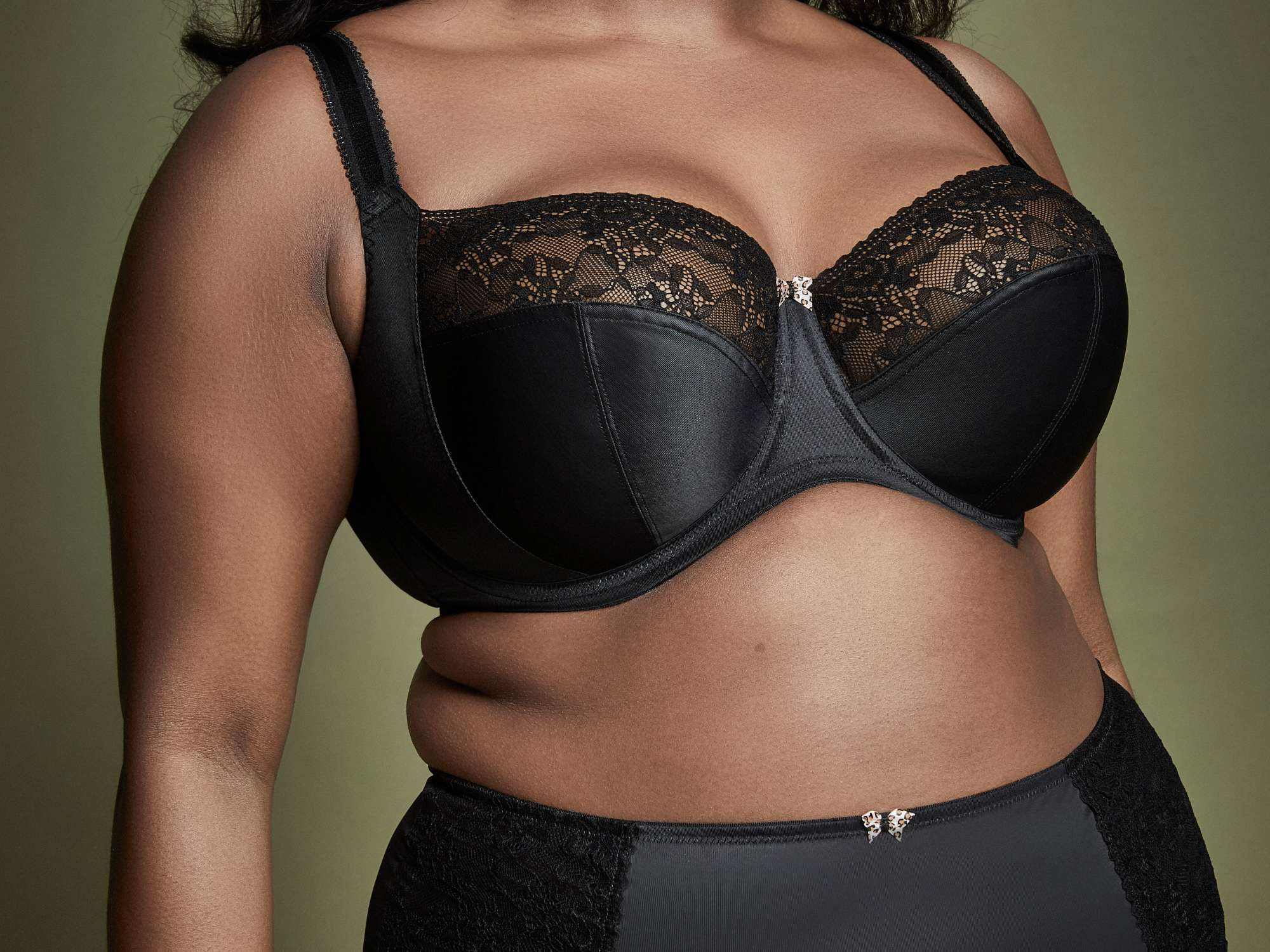 Sculptresse ChiChi in Black by Panache LIngerie