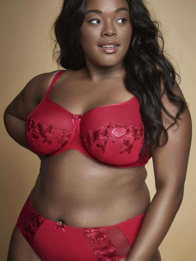 Sculptresse Logan in Rouge by Panache LIngerie