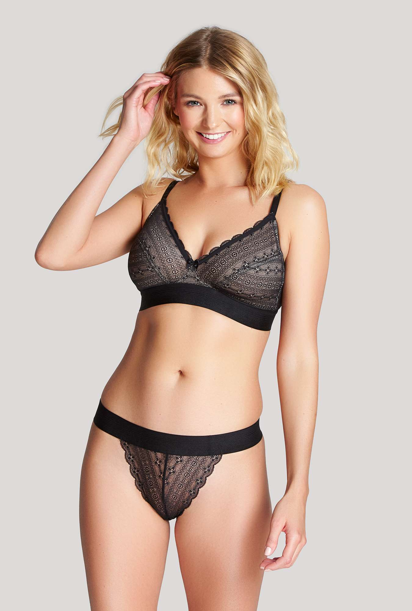 great look good texture new style Lyzy Triangle - Panache Lingerie
